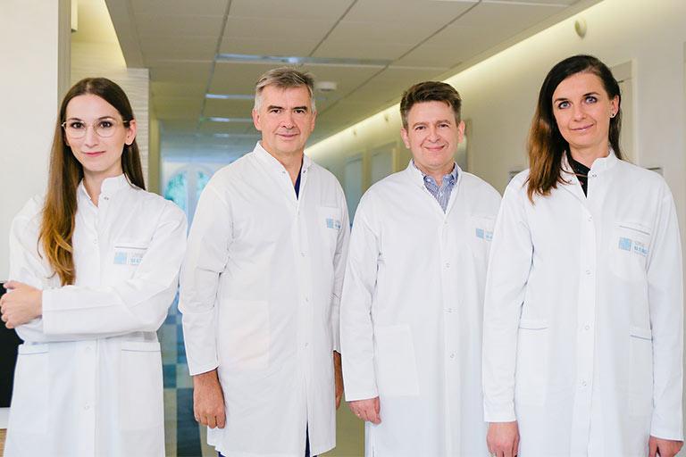 Multidyscyplinarny zespół specjalistów Szpitala na Klinach