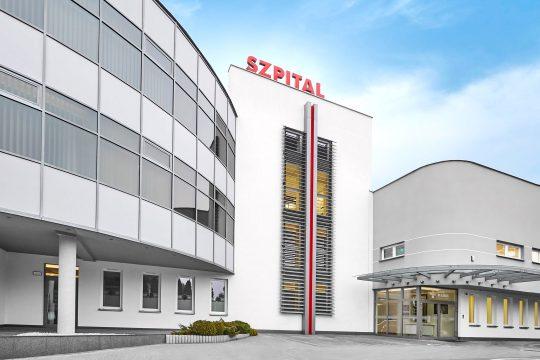 Budynek Szpitala na Klinach
