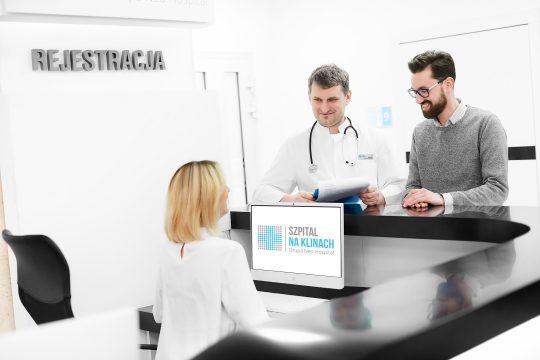Rejestracja w szpitalu