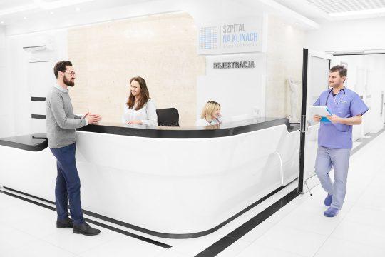 Rejestracja Szpital na Klinach