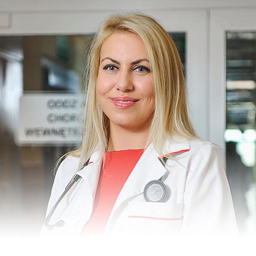 Lek. med. Agnieszka Szyman-Nurczyk, endokrynolog, internista