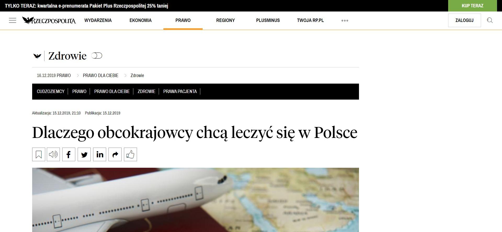 Dlaczego obcokrajowcy chcą leczyć się w Polsce
