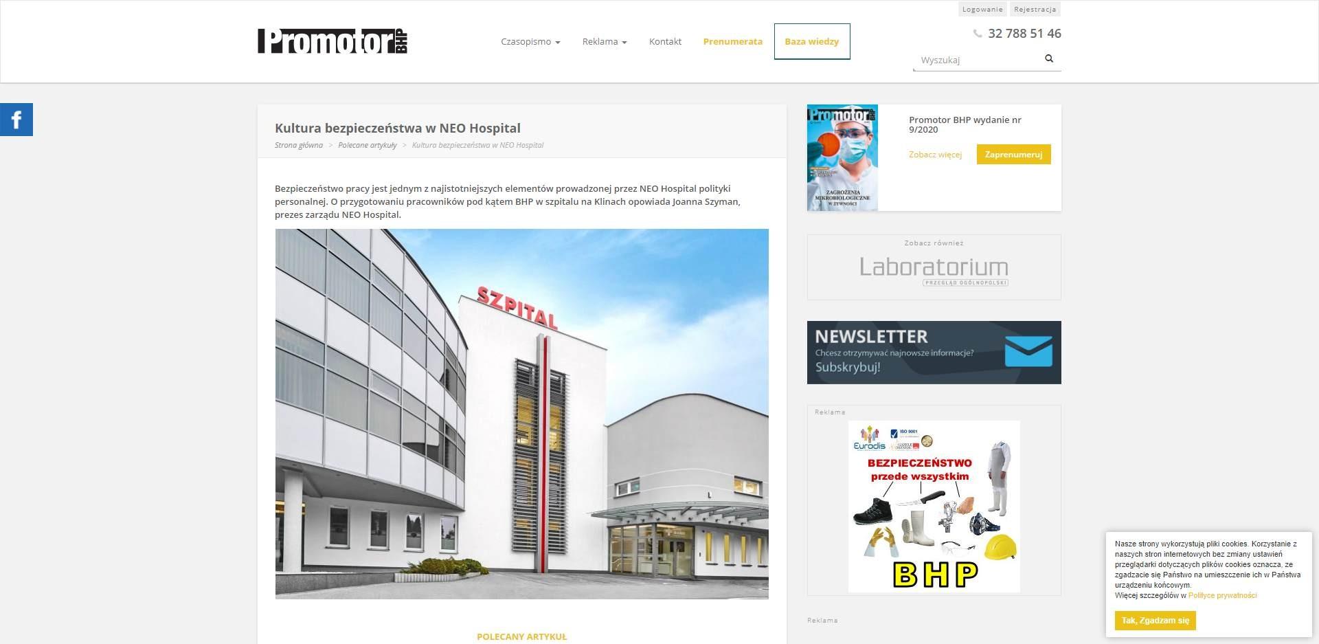 kultura bezpieczenstwa w neo hospital