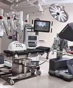 Międzynarodowy kurs robotyki chirurgicznej da Vinci dla lekarzy