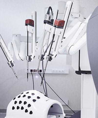 Nowe zabiegi z wykorzystaniem systemu wsparcia chirurgicznego da Vinici w naszym szpitalu - chirurgiczne leczenie przepukliny rozworu przełykowego!