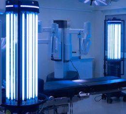 neo hospital wraz z eco light biosafety technology uruchomily program pilotazowy dezynfekcji z wykorzystaniem octa uv system