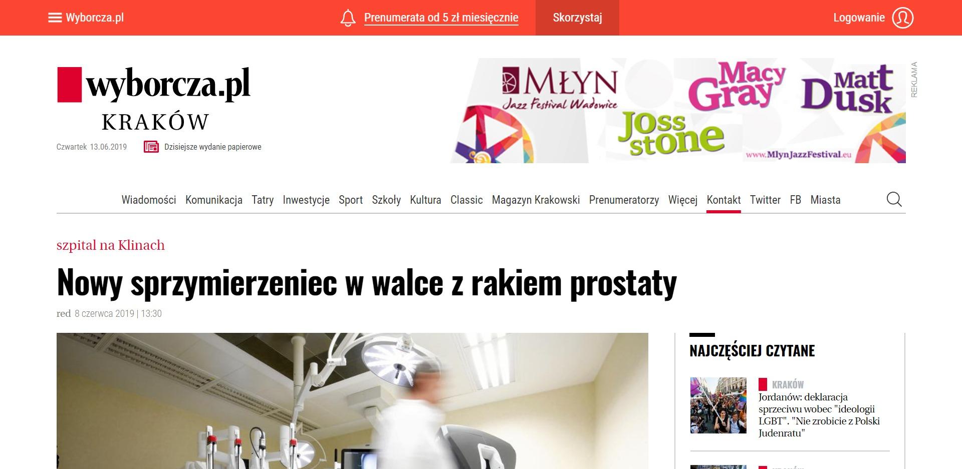 Nowy sprzymierzeniec w walce z rakiem prostaty