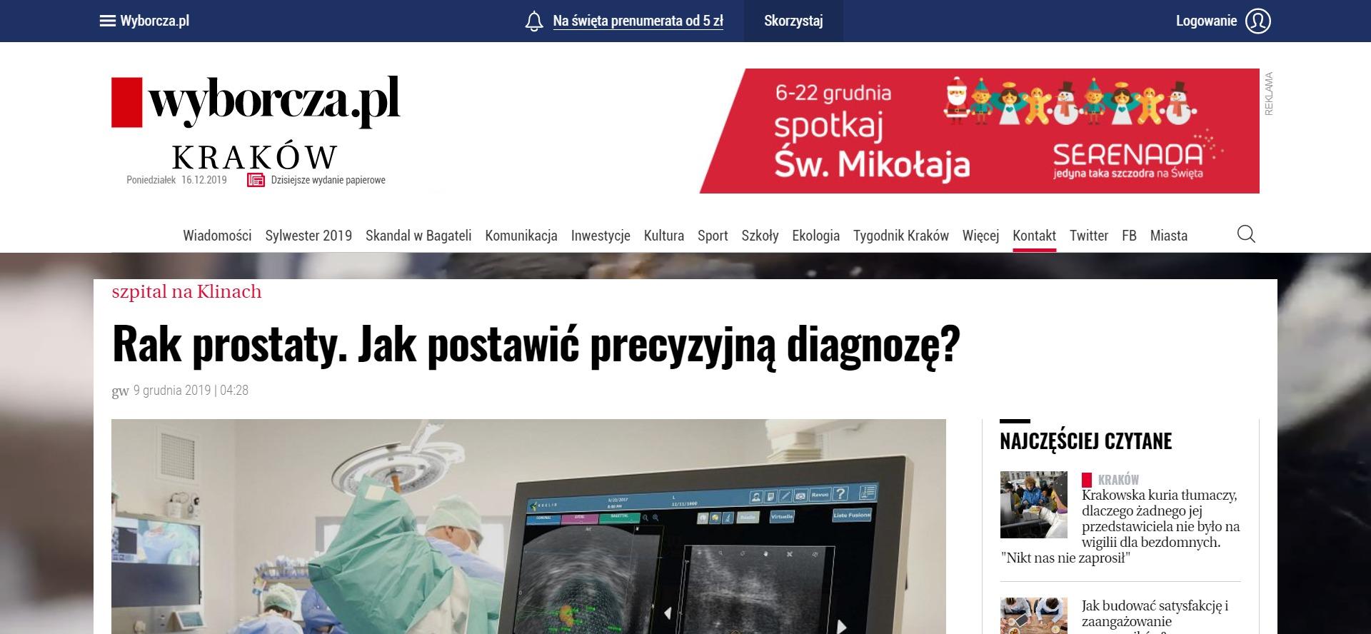 Rak prostaty. Jak postawić precyzyjną diagnozę?