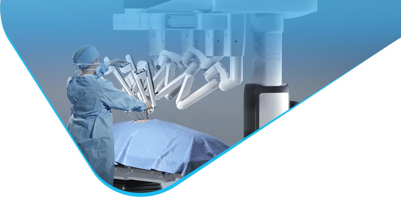Robot Da Vinci w Szpitalu na Klinach